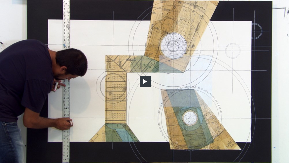 Du tableau blanc à la touche finale, Étienne Gélinas parle de son processus de création