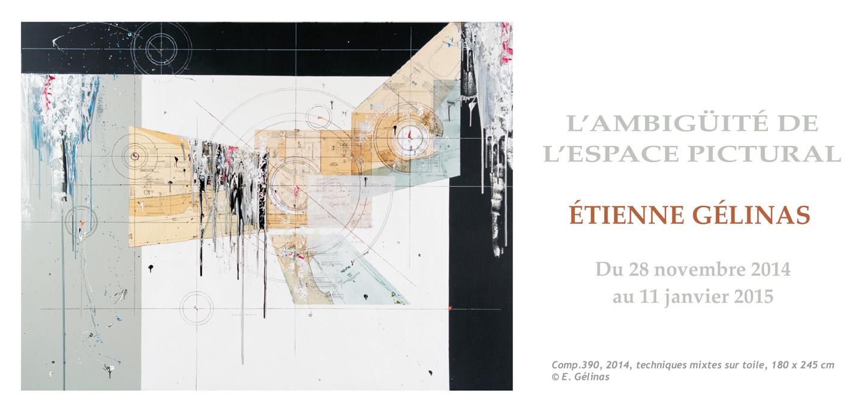 Exposition solo d'Étienne Gélinas au Centre d'exposition de Val-d'Or